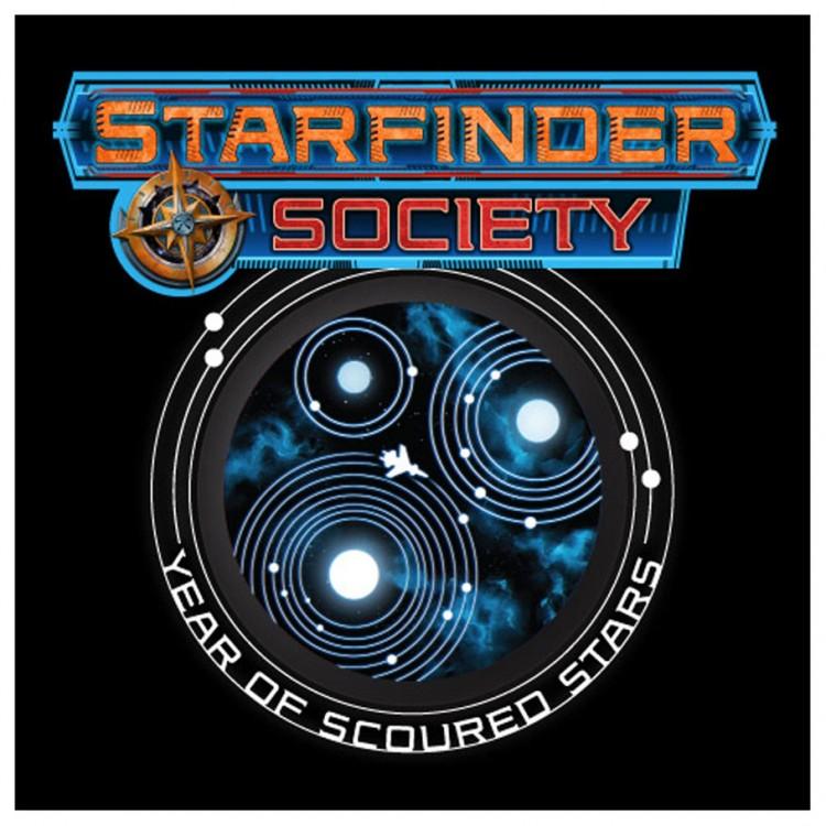 SF Society: Scoured Stars T-shirt (2XL)