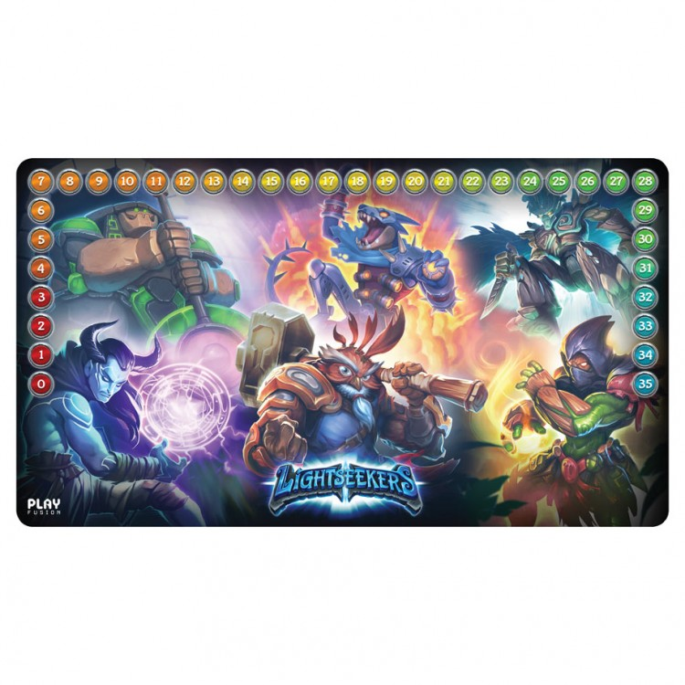Play Mat: LS: Mythical Heroes