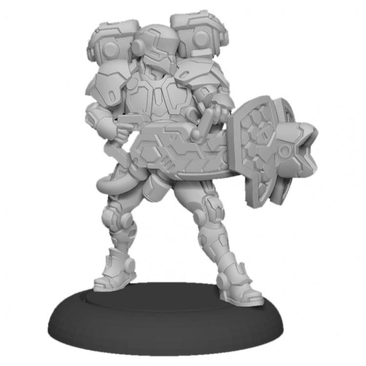 Warcaster: ISA: Paladin Aegis (metal)