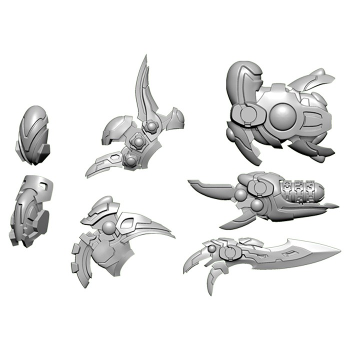 WC: Empyrean: Daemon A Weapon Pack