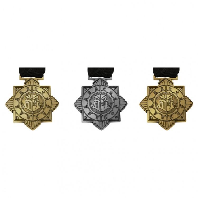 Steamroller Premium Medal Kit