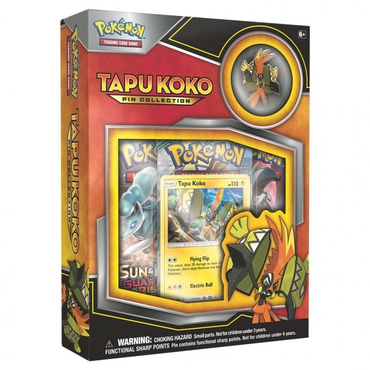 PKM: Tapu Koko Pin Collection