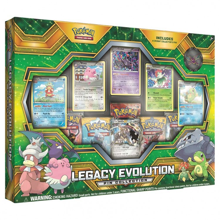 PKM: Legacy Evolution Pin Collection