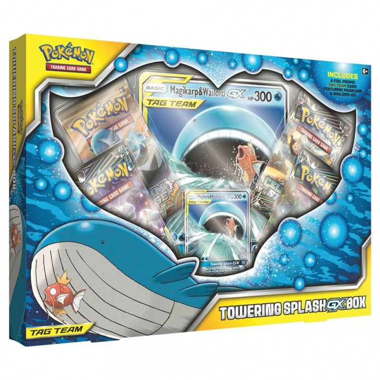 PKM: Towering Splash-GX Box