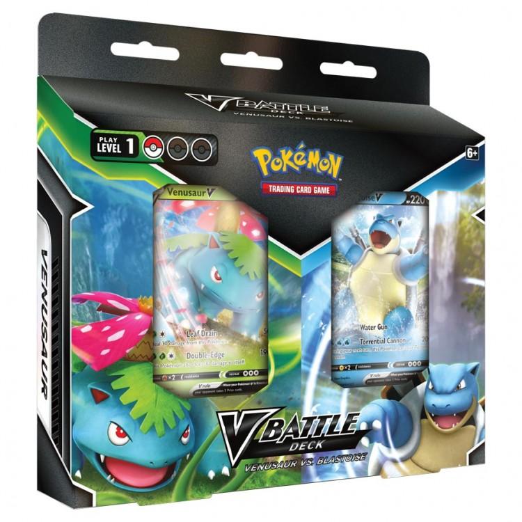 PKM:V Battle Deck: Venusaur vs Blastoise
