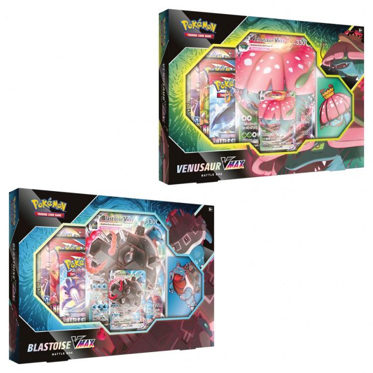 PKM: Venusaur/Blastoise VMAX Battle Box
