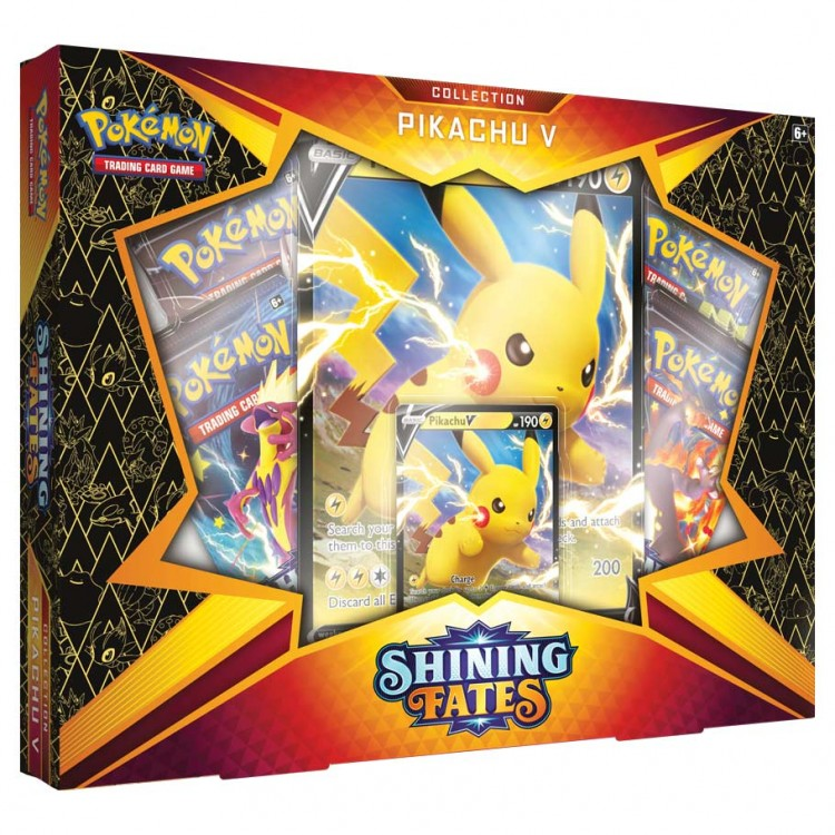 PKM: Shining Fates: Pikachu V
