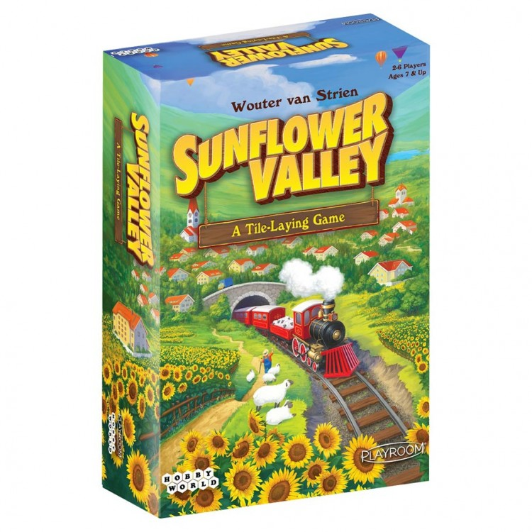 Sunflower Valley: A Tile Laying Game