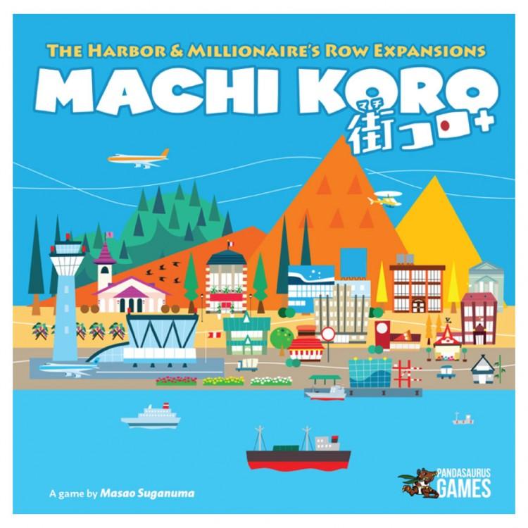 Machi Koro 5th Anniversary Expansions