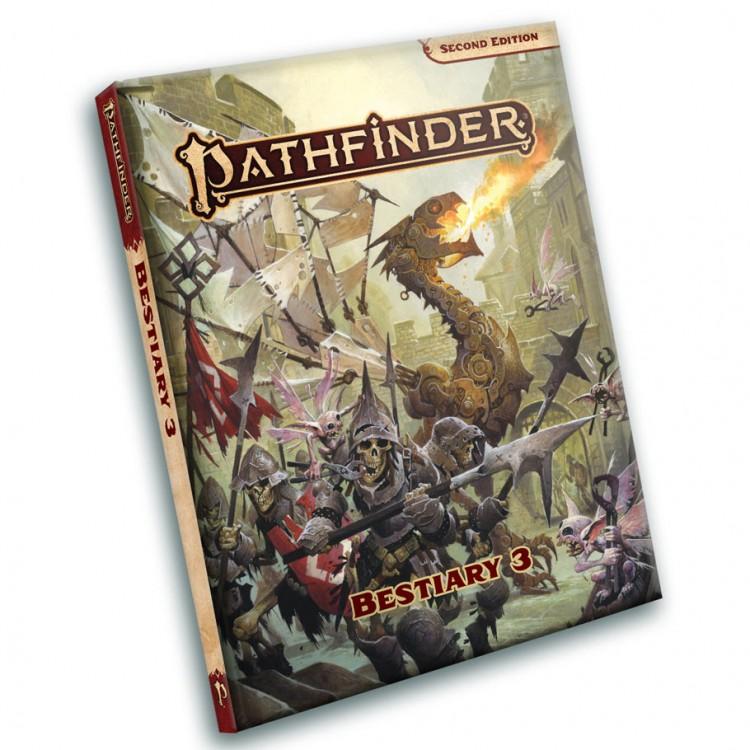 PF2E: RPG Bestiary 3 Pocket Edition