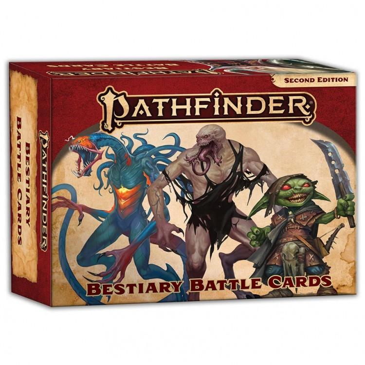 PF2E: Bestiary Battle Cards