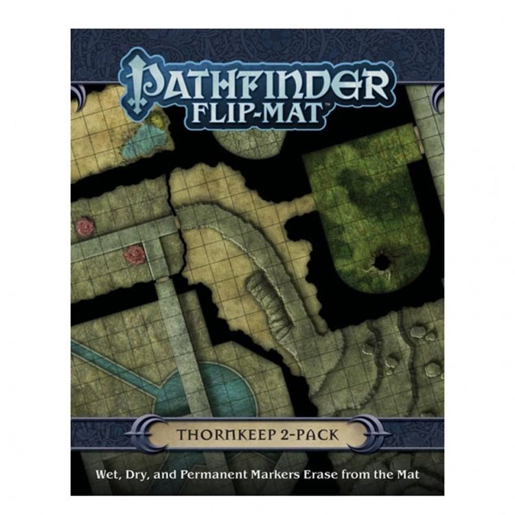PF Flip-Mat: Thornkeep Dungeons 2-Pack