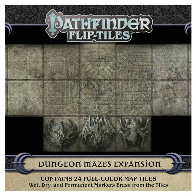 PF Flip-Tiles: Dungeon Mazes Exp