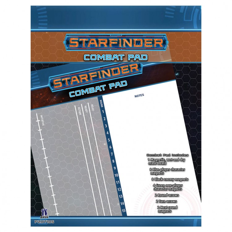 SFRPG: Starfinder Combat Pad
