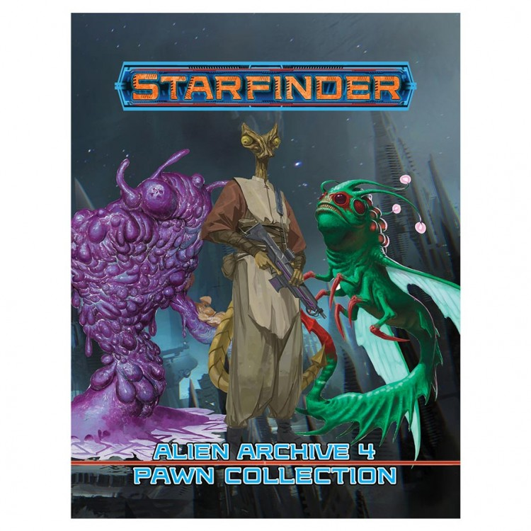 SFRPG: Alien Archive 4 Pawn Collection