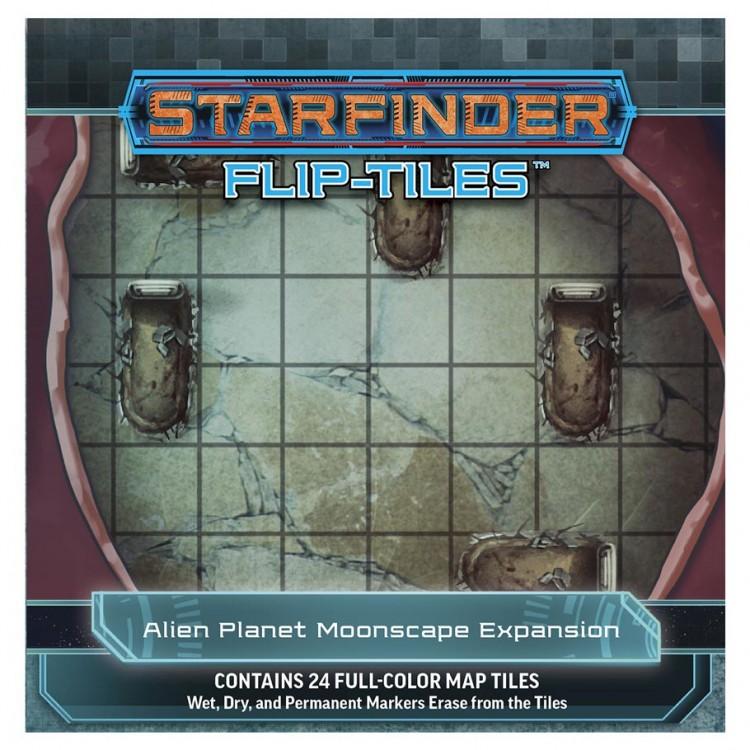 SFRPG: Flip-Tiles: Alien Planet Moon Exp