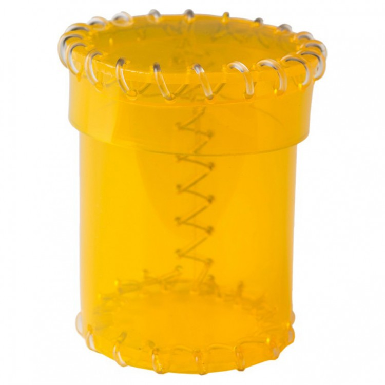 Age of Plastic Yellow Dice Cup