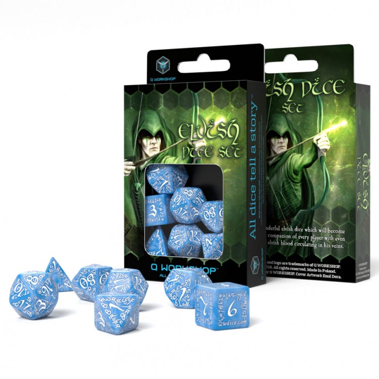 7-set Elvish GLACIERwh
