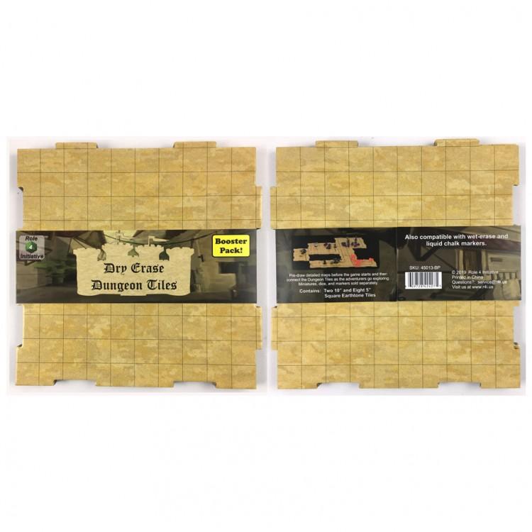 Dry-Erase Dungeon Tile BP: Earthtone