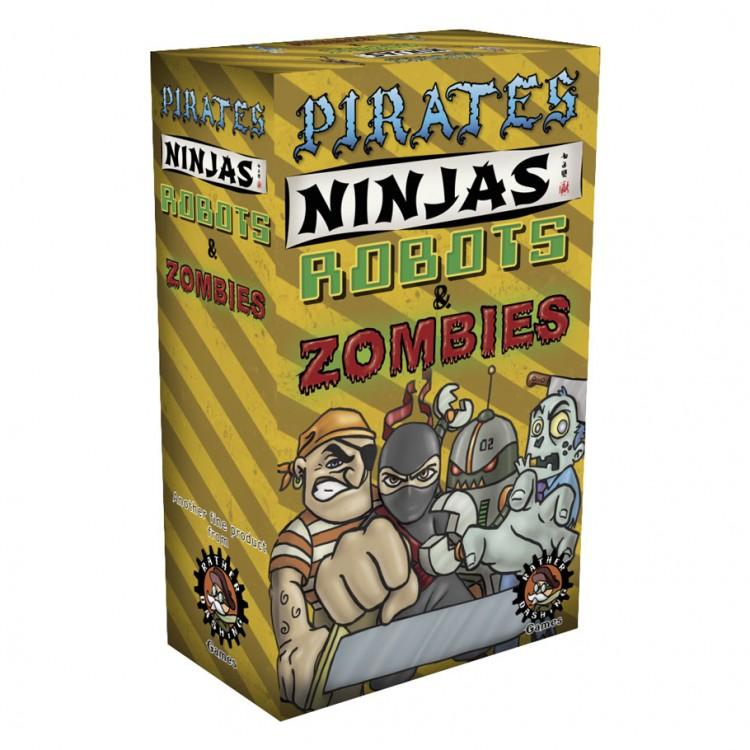 Pirates, Ninjas, Robots, & Zombies!