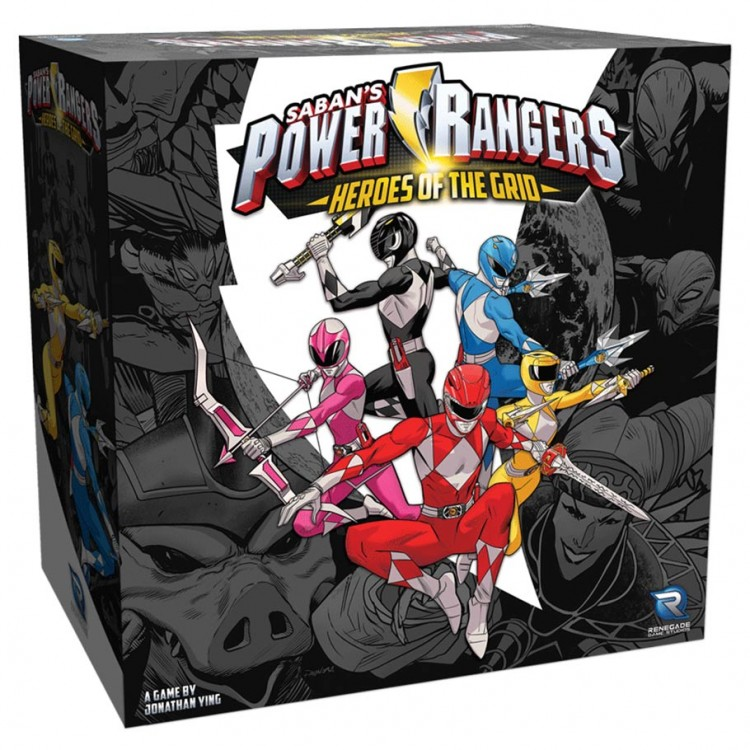 Power Rangers: HOTG: Heroes of the Grid