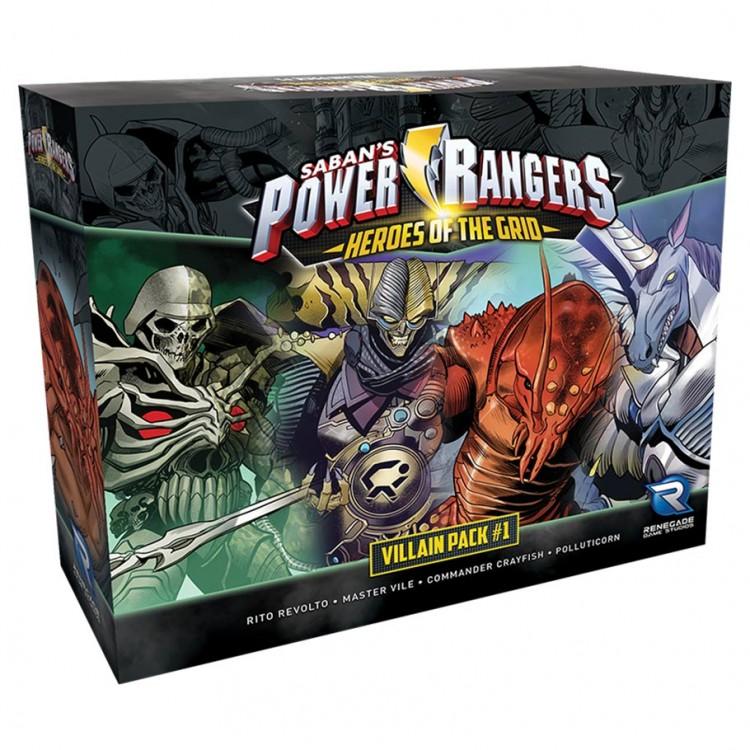 Power Rangers: HotG: Villain Pack #1