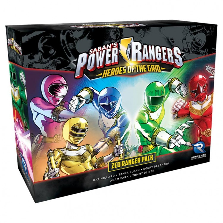Power Rangers: HotG: Zeo Ranger Pack