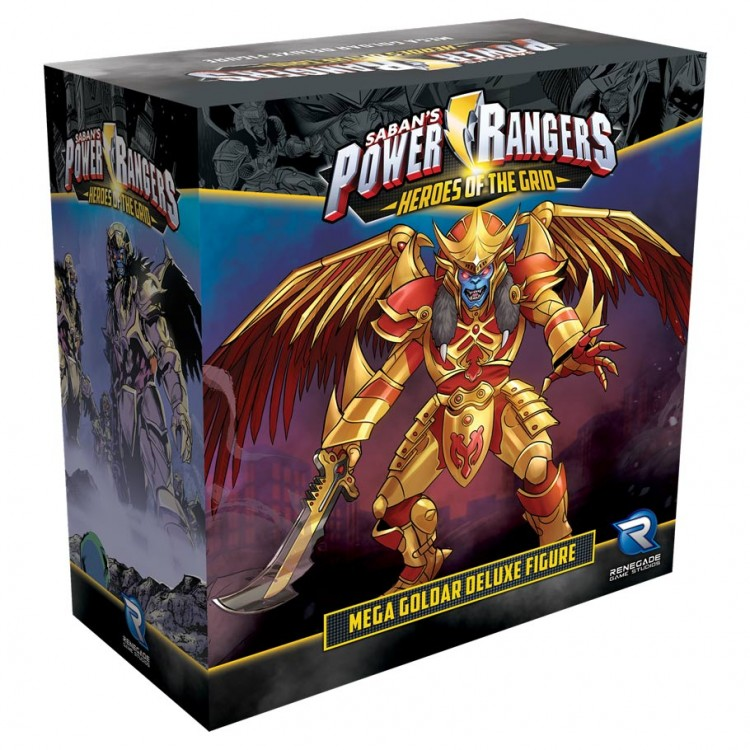 Power Rangers: Heroes of the Grid Mega Goldar Deluxe Figure