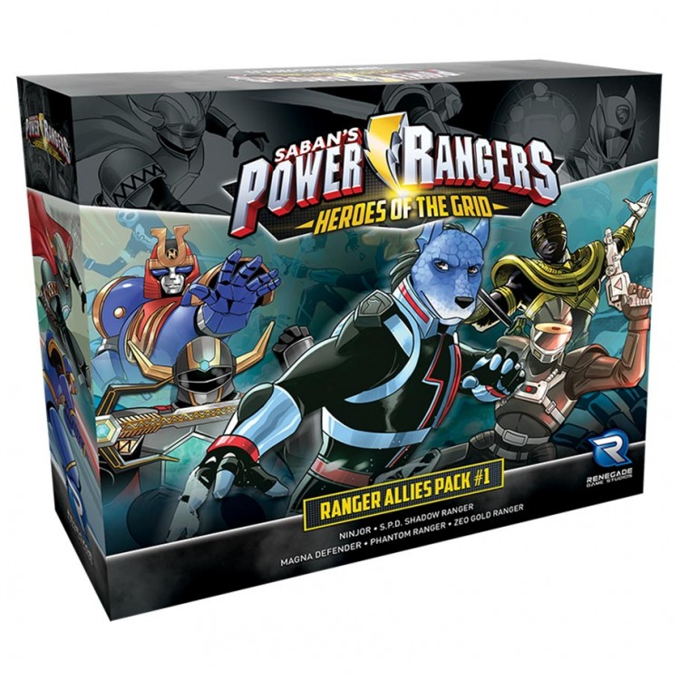 Power Rangers: HotG: Allies Pack #1