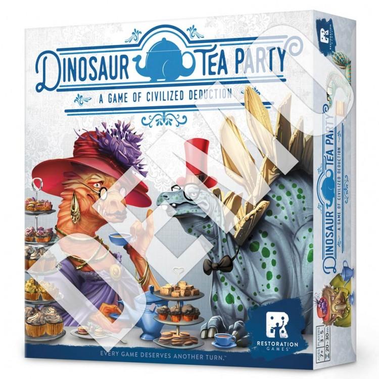 Dinosaur Tea Party Demo