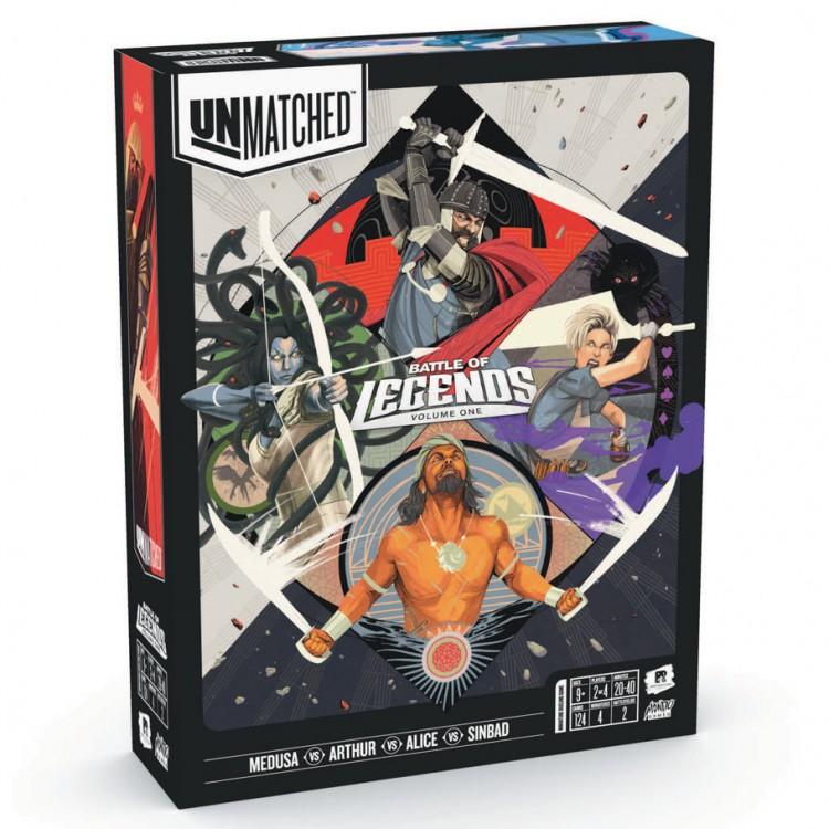 Unmatched: Battle Of Legends, V1 DEMO