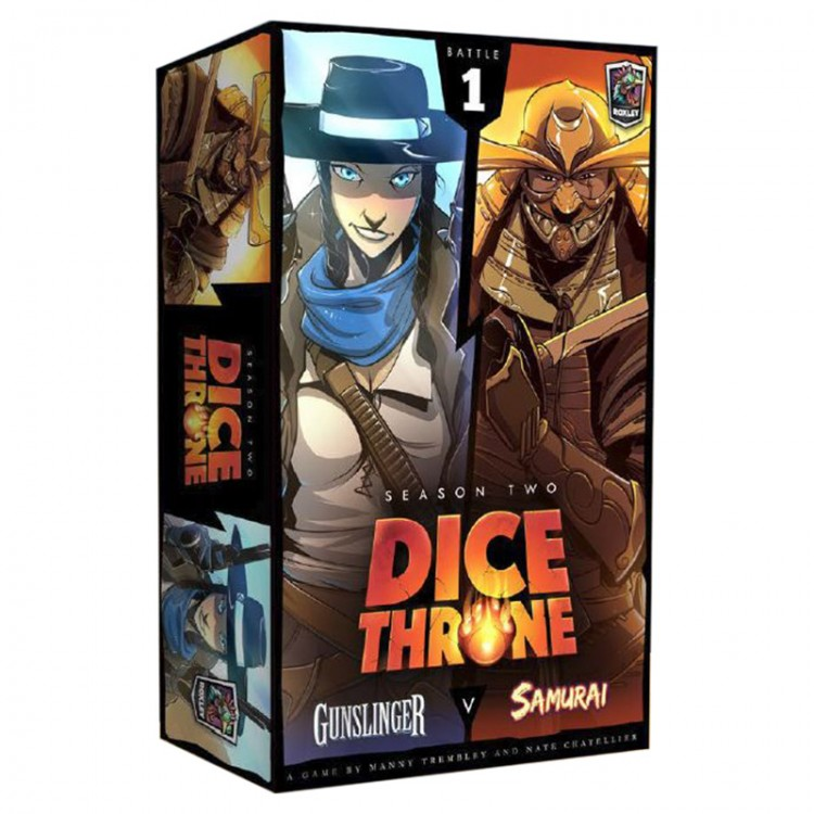 Dice Throne: S2: Gunslinger vs. Samurai