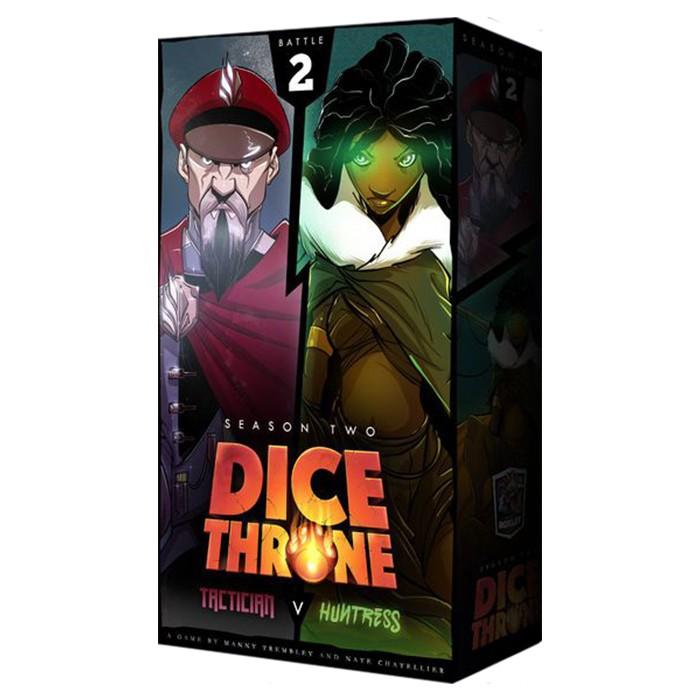 Dice Throne: S2: Tactician vs. Huntress