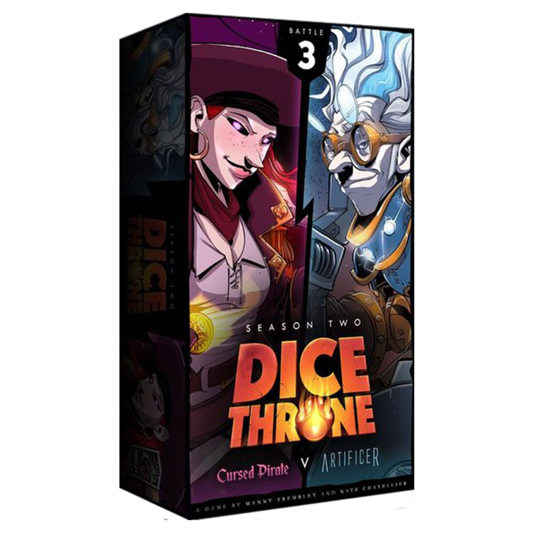 Dice Throne:S2:ArtificerVs.Cursed Pirate
