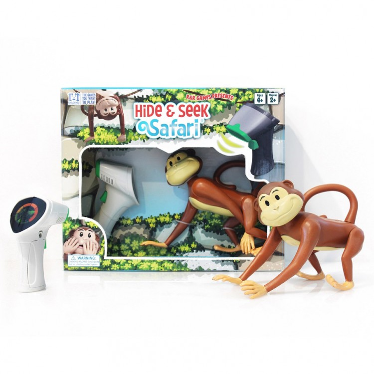 Hide & Seek Safari: Monkey & Scanner