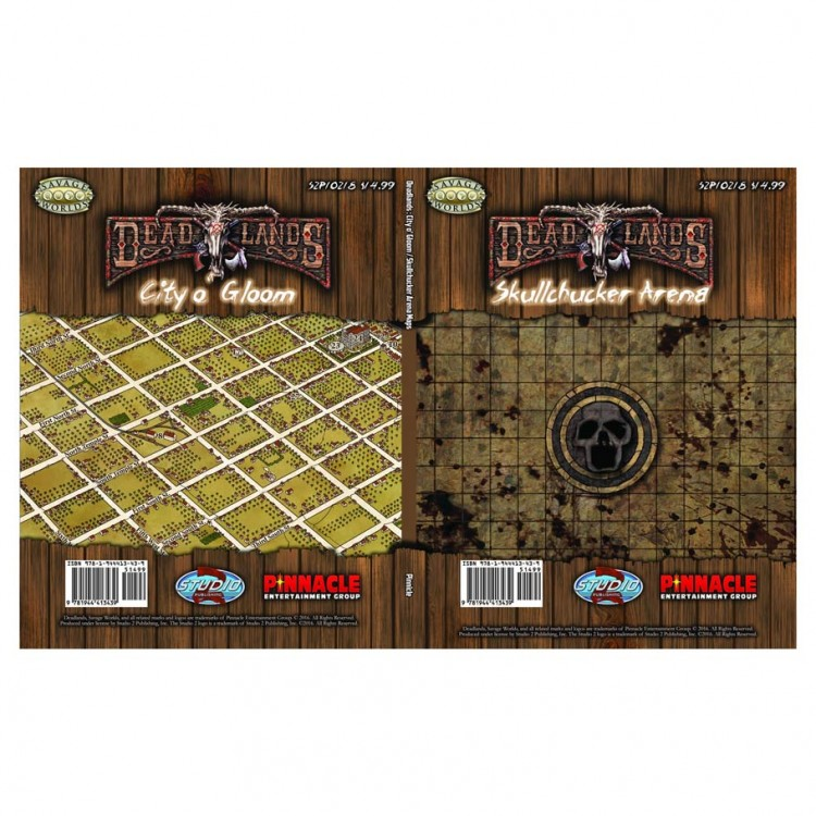 Deadlands: City o' Gloom Map