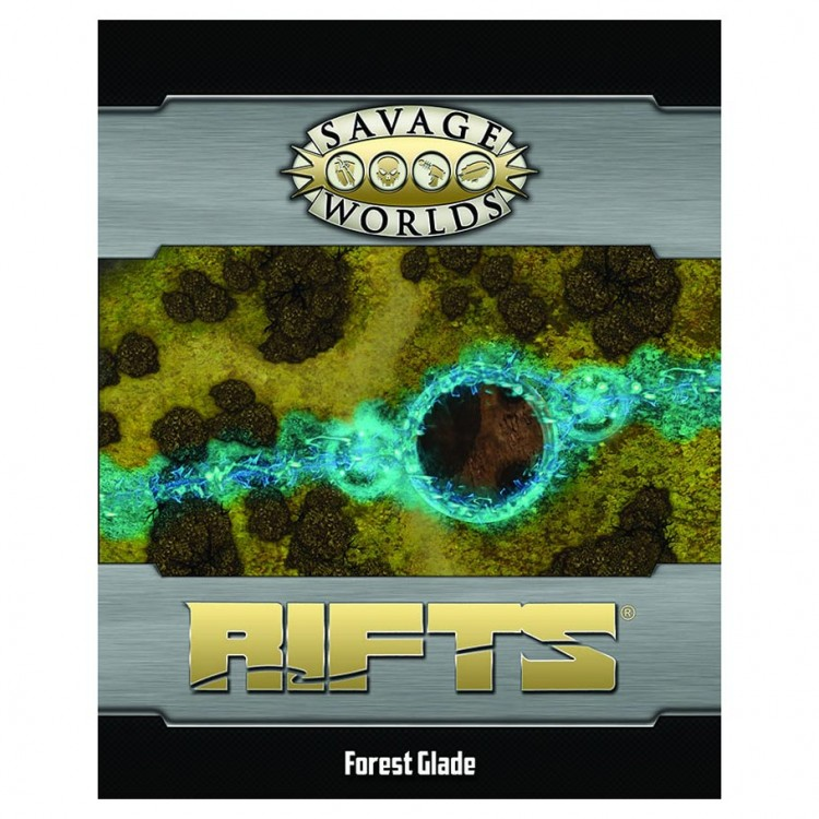 Savage Rifts Map: Nexus Point/Forest Gld