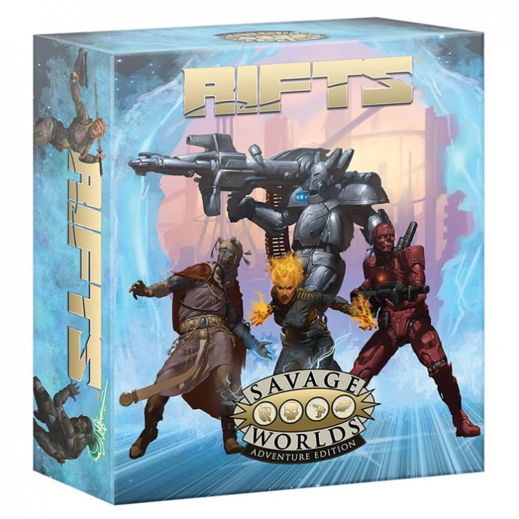 Rifts: SW: Adventure Boxed Set