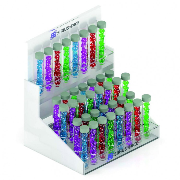 Sirius Dice Retail LED POP Display