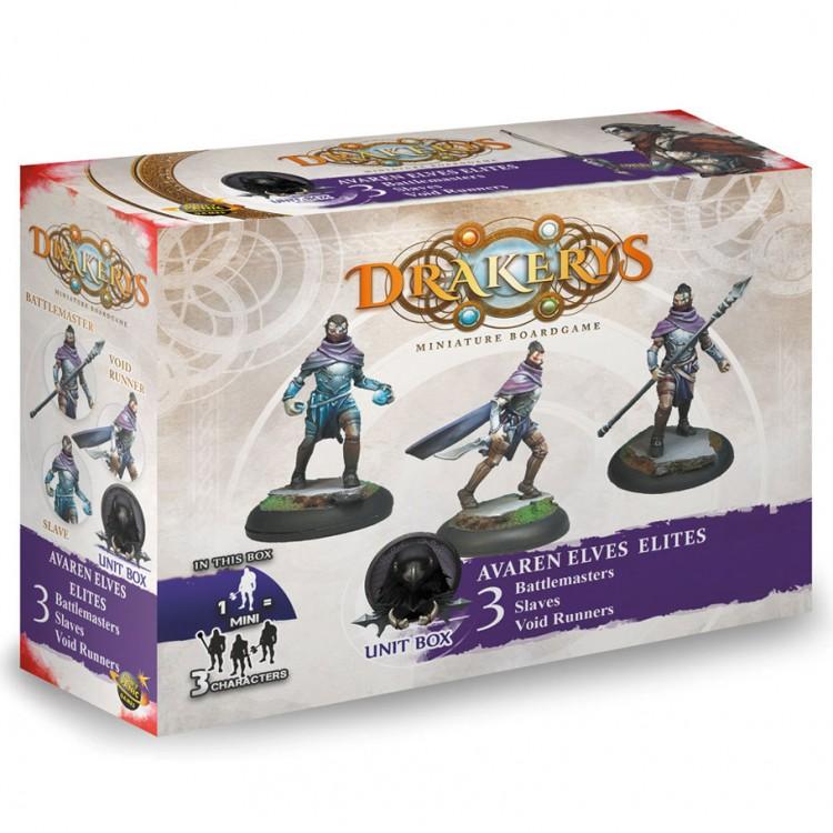 Drakerys Avaren Elite Unit Box 3 Battle