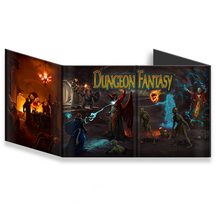 Dungeon Fantasy GM Screen