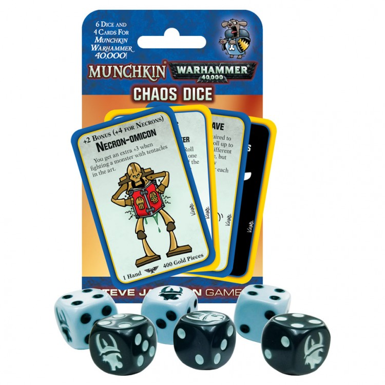 d6 Munchkin Warhammer 40k: Chaos Dice(6)