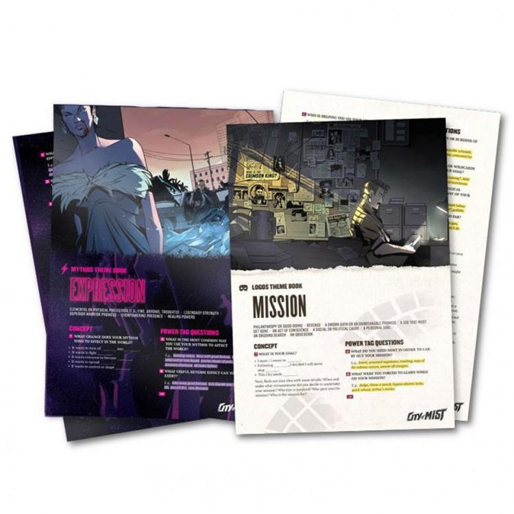 City of Mist RPG Themebooks