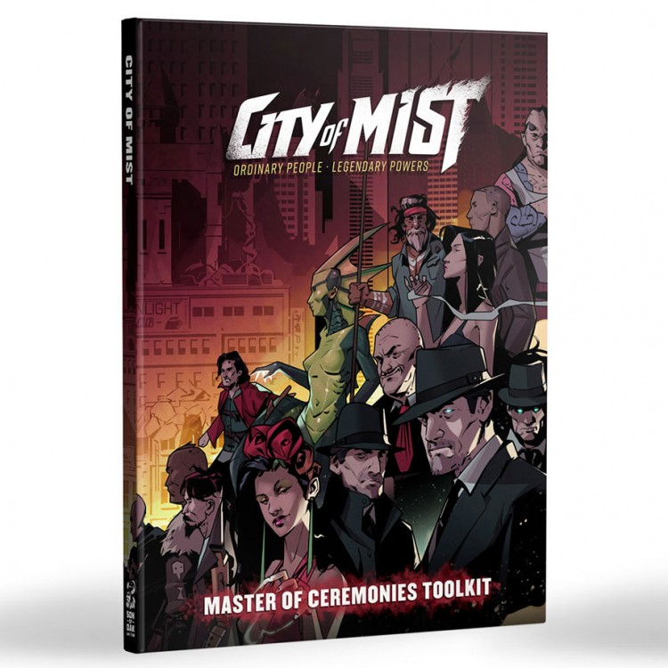 City of Mist RPG MC Toolkit