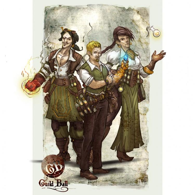 GB: Alchemist: Starter Set