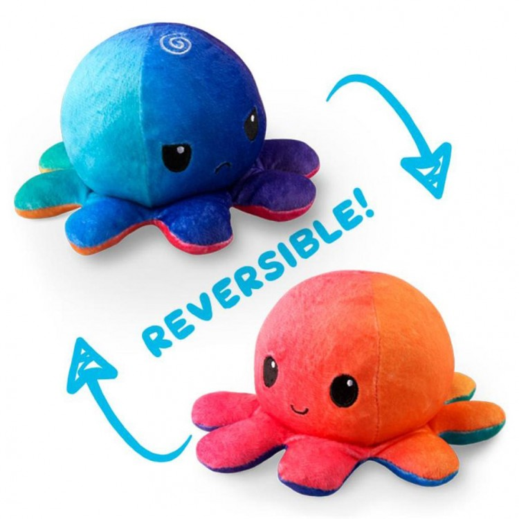 Reversible Octopus Mini Plush: SU/ME
