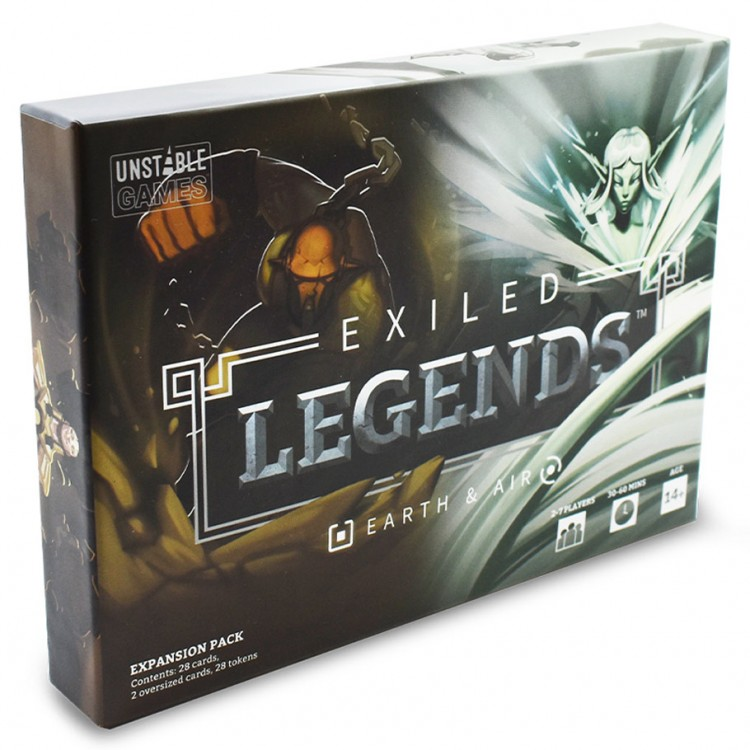Exiled Legends: Earth & Air Expansion