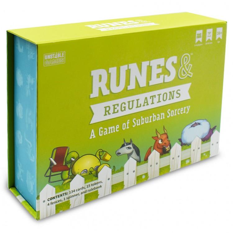 Runes & Regulations: Base Game