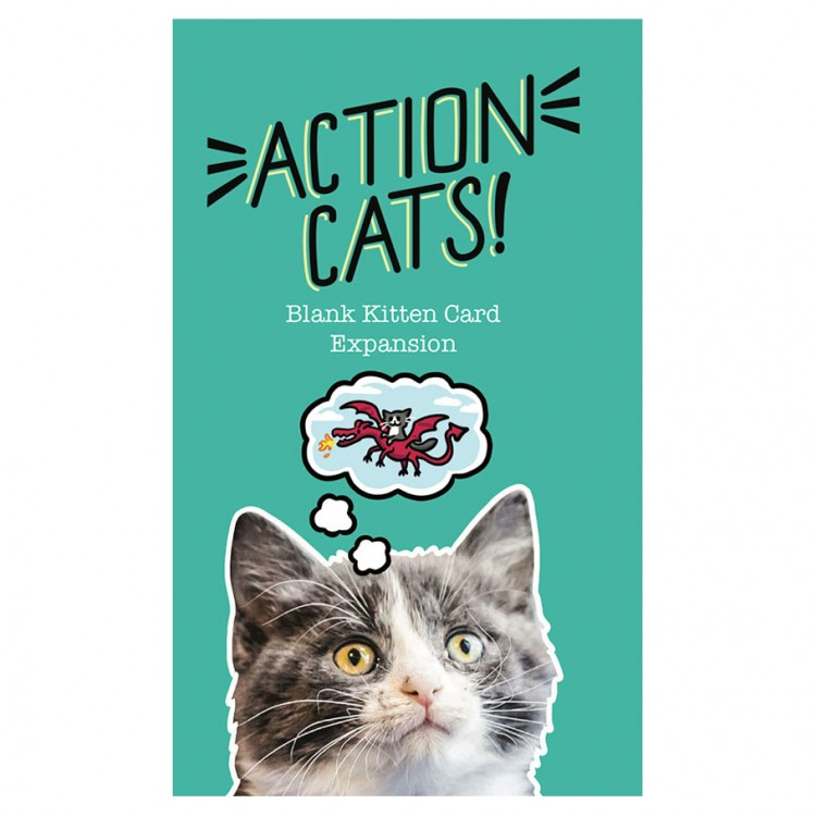 Action Cats!: Blank Card Expansion