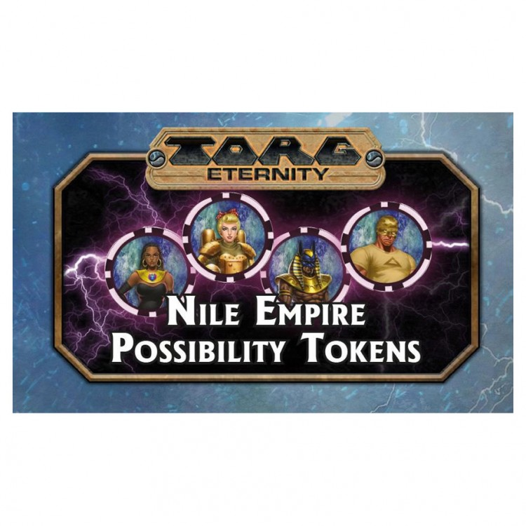 TORG: Nile Empire: Possibility Tokens